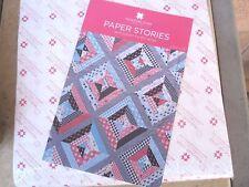 "10"" Paper Piecing Squares & Paper Stories Quilt Pattern Missouri Star Quilt Co."
