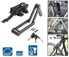 CRIVIT Bicicleta Cierre plegable Candao para Seguridad de cilindro 3Schlüssel