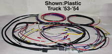 Wiring Harness, Main - Alternator -Plastic Covered 1953-1954 Chevy Truck