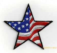 STAR USA FLAG HAT VEST PATCH UNITED STATES STARS N STRIPES PIN UP US QUILT GIFT