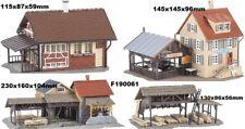 Faller 190061; 4 MODELOS; aserradero, POSADA, Casa de madera, Almacenamiento