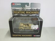 Corgi Fighting Machines Kuebelwagon CS90080 Afrika Korps El Alamein-German 2002
