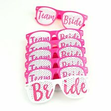 Set of 7 - Wedding Sunglasses - Bride To Be Hen Night Party Accessories