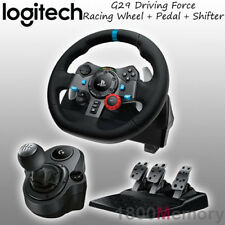 Logitech G29 Driving Force Racing Wheel for Sony PS4 PS3 PC with Gear Shifter