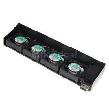 USB Cooling 4 Fan Cooler Lüfter Kühler System für Sony Playstation 3 PS3