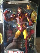 "IRON MAN 12 "" TOY BIZ MARVEL LEGENDS ICONS variant Face shows 2006 NEW"
