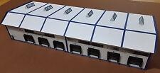 Logistikzentrum Logistikhalle Spedition HO Epoche 4/5/6 Kartonmodellbau