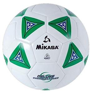 Mikasa Serious Soccer Ball (Green/White, Size 4)