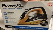 Power XL - 2-in-1 - Cordless Iron & Steamer **NEW / FREE SHIPPING**