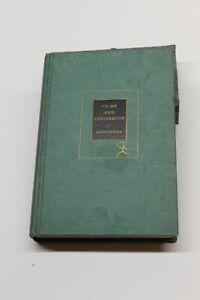 Vintage 1959 Crime and Punishment by Fyodor Dostoyevsky