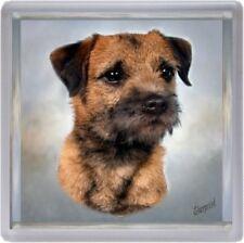 Border Terrier Coaster Design No 3 by Starprint