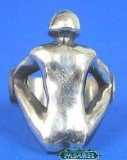 Sterling Silver HOMME NUE Designer Ring Size 6
