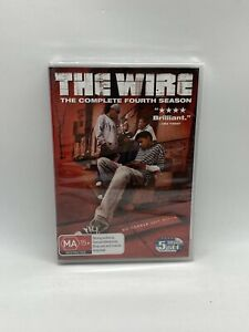 THE WIRE Season 4 - R4 DVD 5 Disc Set NEW & SEALED