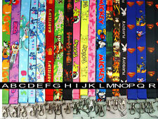 Mickey Mouse Happy Lanyard Keychain Holder Badge SALE CLOSEOUT (Item #L)