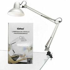 Lampada da tavolo professionale con Clip snodabile per Nail Art Lidan