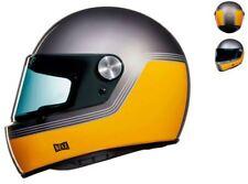 FULL-FACE HELMET VINTAGE NEXX XG.100 R MOTORDROME YELLOW SIZE L