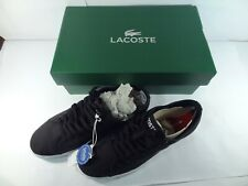 Lacoste Men's 'Riberac' Black Shoes / Trainers - Size 7 - NEW IN BOX