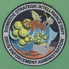 DEA DRUG ENFORCEMENT ADMINISTRATION DOMESTIC INTELLIGENCE UNIT POLICE PATCH