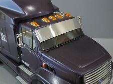 Aluminum Windshield Sun Visor Block Plate for Tamiya RC 1/14 Ford Aeromax Semi