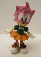 "Sonic The Hedgehog's Girlfriend Amy Rose 2"" PVC Character Figure Jazwares Sega"