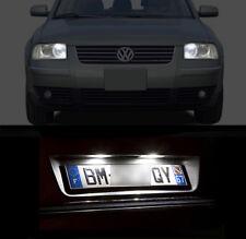 2 Bulbs LED White Night Lights + Lights of Plate for Volkswagen Passat B5