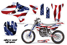 YAMAHA YZF 250/450 Graphic Kit AMR Racing # Plates Decal Sticker Part 03-05 SNS