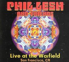 New: PHIL LESH (GRATEFUL DEAD) - Live at the Warfield, SF [Box Set] 2 CD + DVD