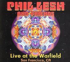 FREE US SHIP. on ANY 2 CDs! NEW CD Phil Lesh and Friends: Live at the Warfield -