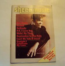 Dionne Warwick Piano Guitar Magazine Sheet Music 1986