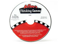 Arthur's Thinking Games - Windows 7 CD Computer PC Game DW Ages 4-7 Muffy Buster