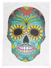 Giorno dei morti grandi Coloured Skull Asciugamano di cotone