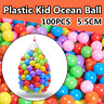 100PC 5.5cm Colorful Plastic Ocean Ball Baby Kid Pit Toy Game Fun Pool Ball Soft
