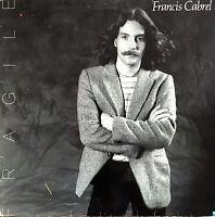 Francis Cabrel LP Fragile - France (G/EX)