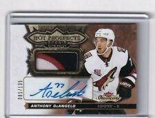 16-17 Fleer Showcase Hot Prospect Rookie Auto Patch Anthony DeAngelo