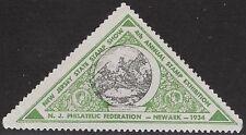 USA Cinderella: 1934 New Jersey Philatelic Federation,4th Annual Stamp Ex-dw234c