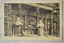 """CPA """" ROUEN - La Cathédrale - Fragment du Tombeau des Cardinaux d'Amboise"""