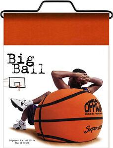 BASKETBALL bean bag - Adult size