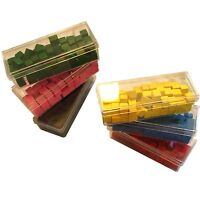 YOU CHOOSE any color & quantity Vintage Risk Board Game Wooden Army Piece Token