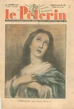 Virgin L'Immaculée Conception Sainte Vierge  Bartolomé Esteban Murillo WWII 1939