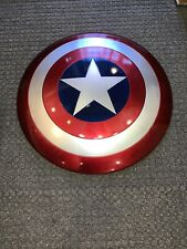 Captain America Hasbro Full Size Replica Plastic Shield Avengers Marvel