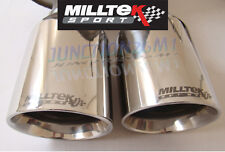 FIESTA MK7 Milltek Scarico 1.6 Duratec Ti-VCT & Zetec S 2010 INOX NUOVO TWIN