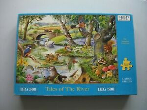 """"""" TALES OF THE RIVER  """"  BIG 500 PIECE QUALITY """"HOUSE OF PUZZLE"""" JIGSAW PUZZLE.."""