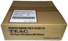 TEAC P-55 =VERSAMAX= 3-Color CMY Color Ribbon Set (19610050-40)