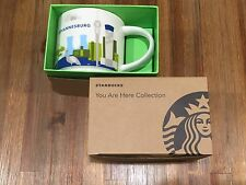 Starbucks South Africa Johannesburg YOU ARE HERE YAH First 3000 Limited Mug