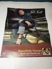JILL SCOTT BEAUTIFULLY HUMAN Poster Rare Promotional Only 30 X 24 NEW