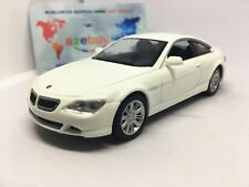 BMW 645 Сi Coupe White 6 Series 2004 Year 1/43 Scale Rare Collectible Model Car