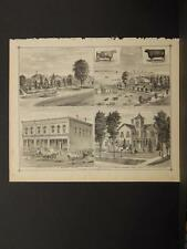 New York, Chautauqua County Engraving, 1881 Sherman N6#47