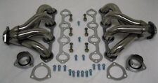 Small Block Ford 289 302 351W Tight Fit Stainless Steel Hugger Headers SBF V8