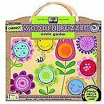 Green Start Chunky Wooden Puzzles : Circle Garden (2012, Merchandise, Other)