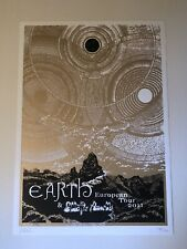 Earth Sabbath Assembly Concert Poster Screenprint Print Signed Numbered Limited